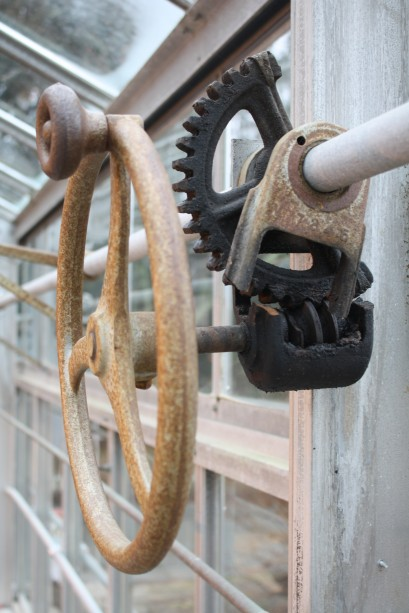 greenhouse vent gears