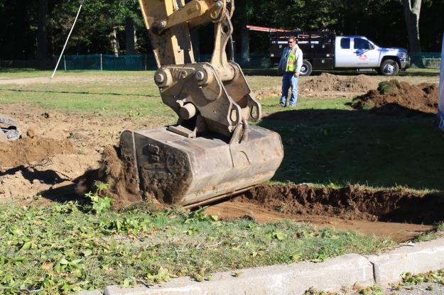 removing topsoil