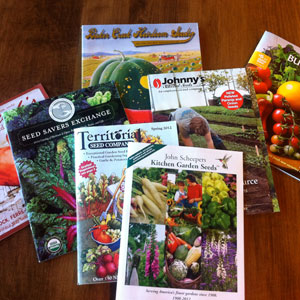 seed catalogs URI Botanical Gardens Blog